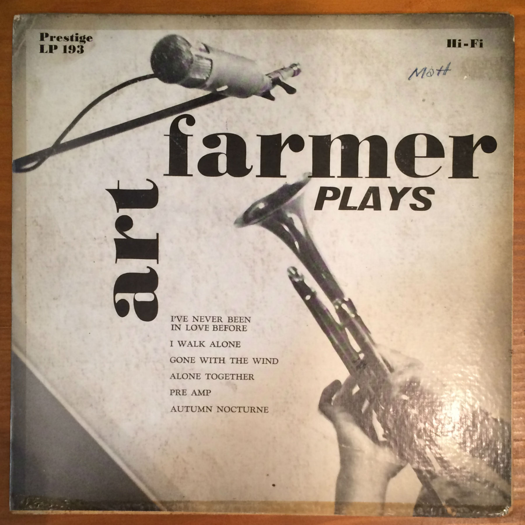 "●ART FARMER / PLAYS (10"")"