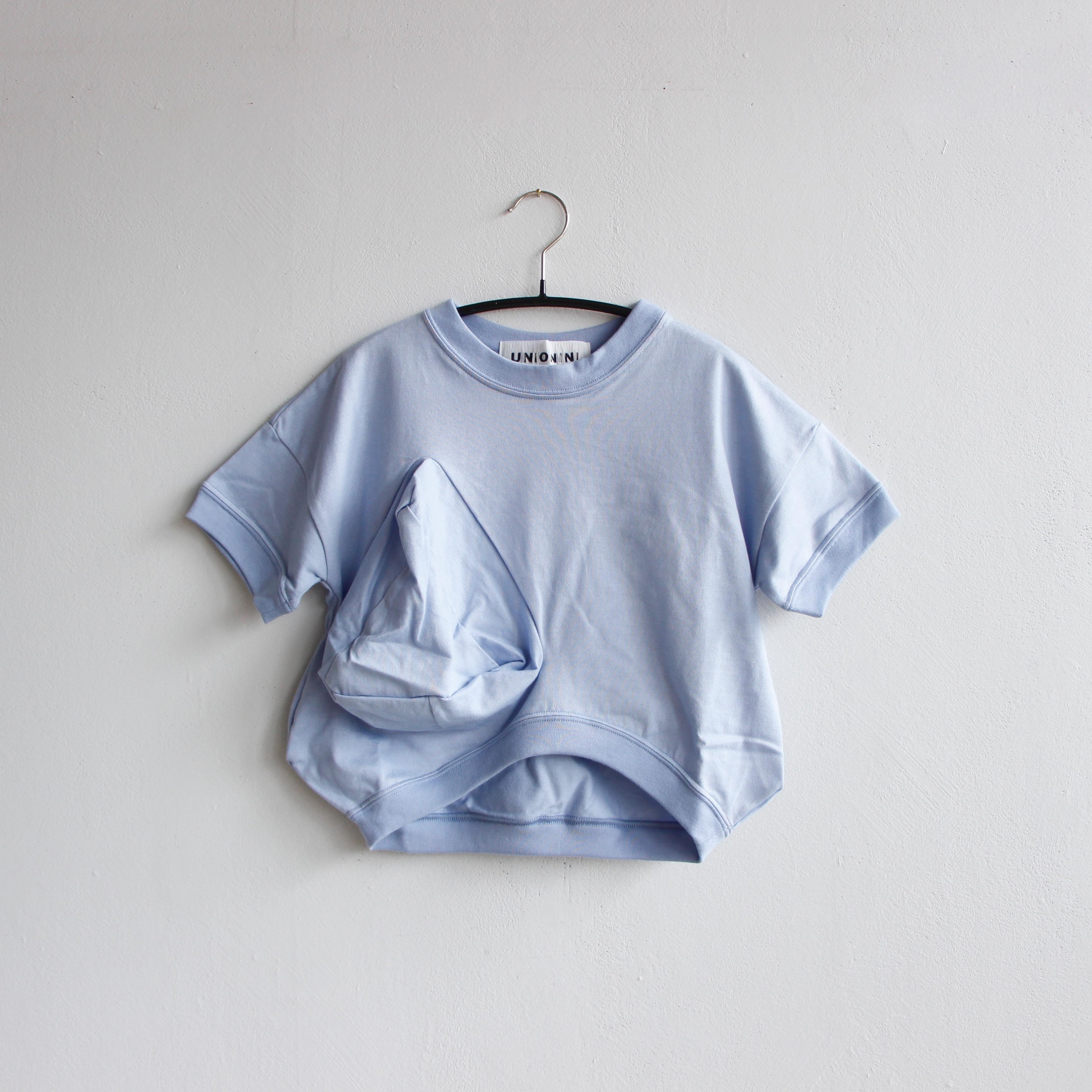 《UNIONINI 2020SS》◯△ T-shirt / mizuiro