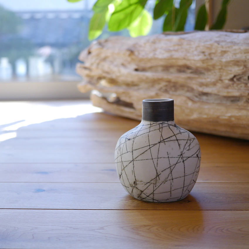 陶器 クロスライン オーバル