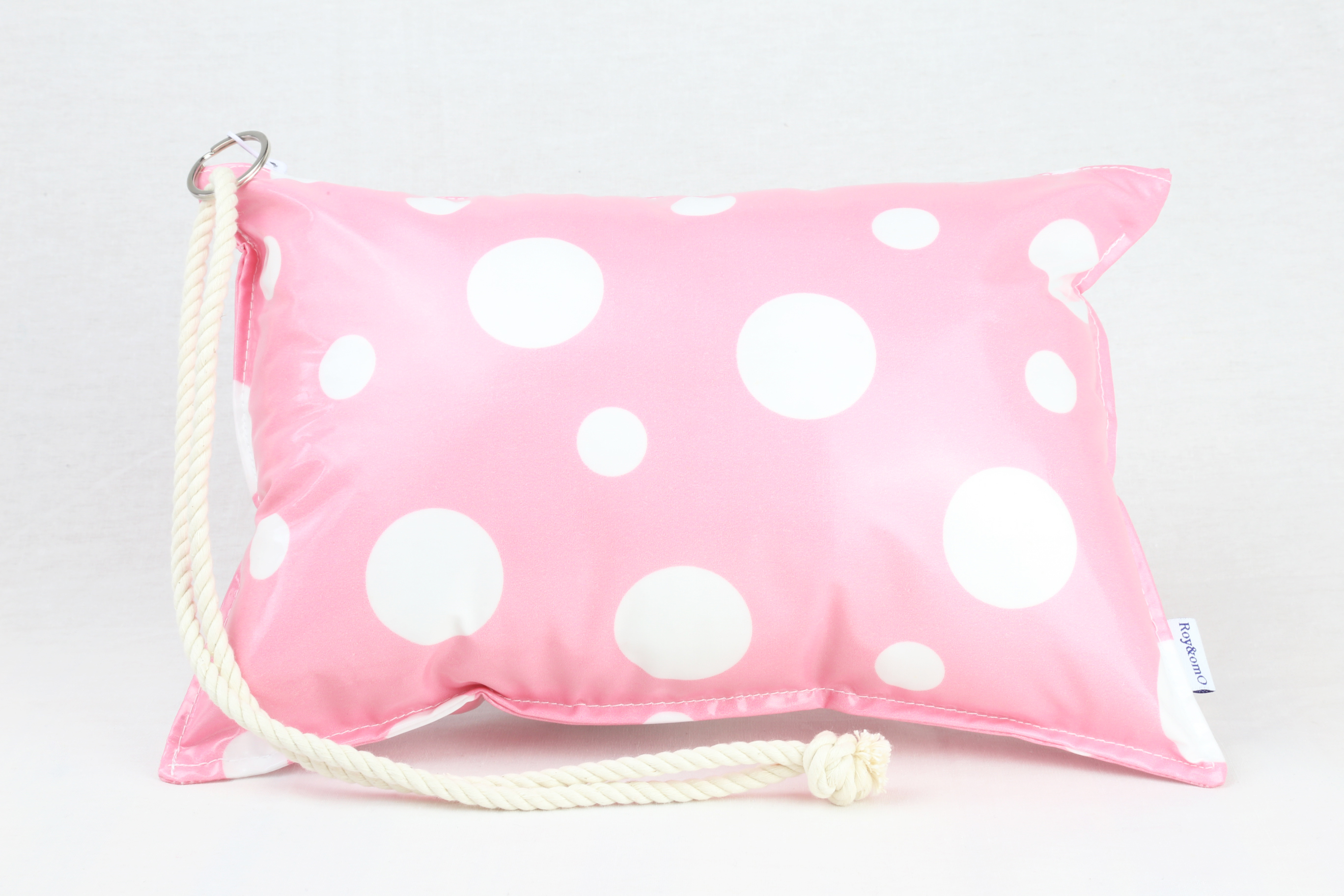 Pillow Bag (plumpillow purse)【Macaron Pink】まくら×ポーチ アウトドア
