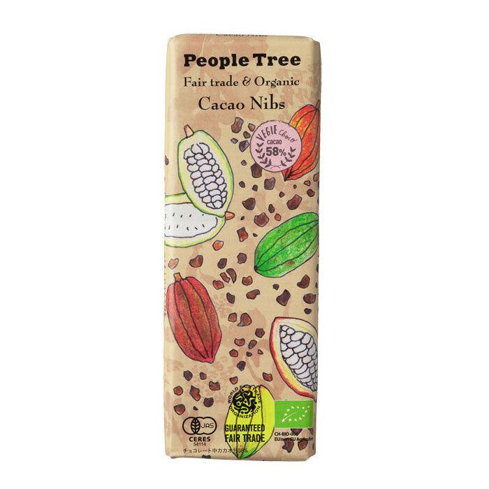 People Tree フェアトレードチョコ オーガニック カカオニブ ピープルツリー