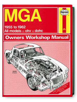 MGA・オーナーズ・ワークショップ・マニュアル