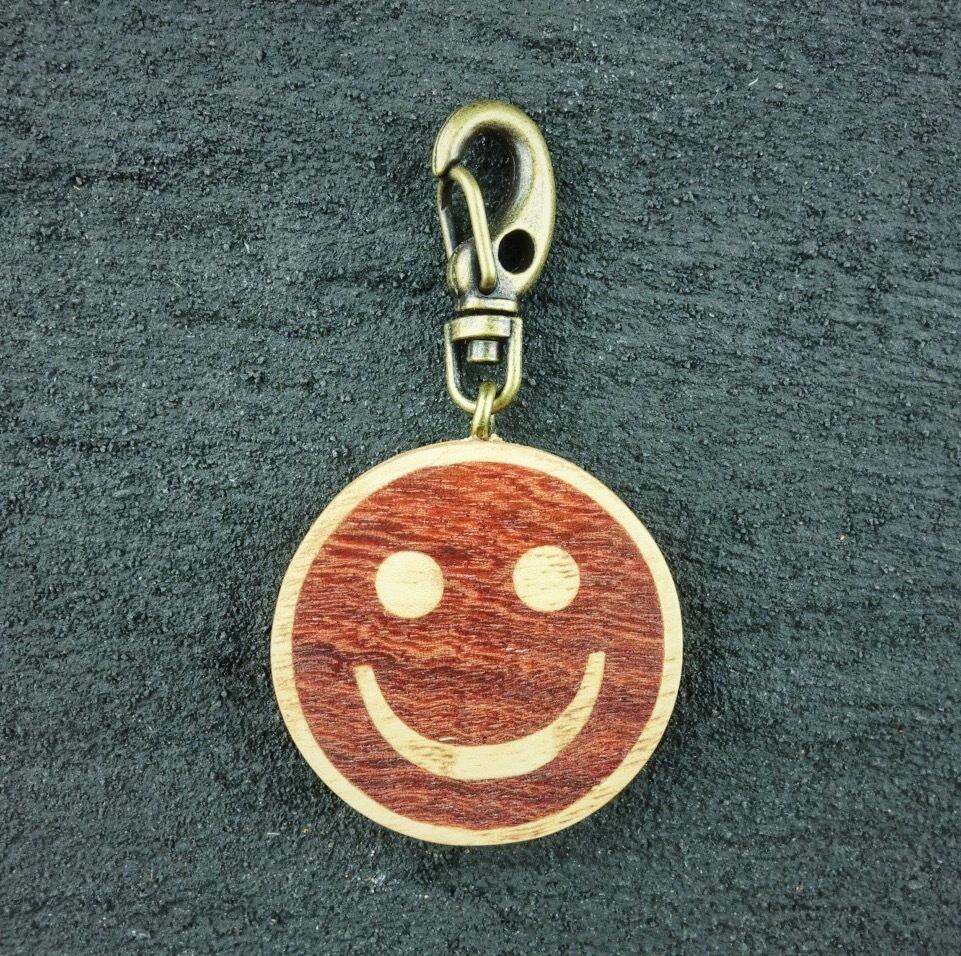 wooden inlaid charm IH-003-NA