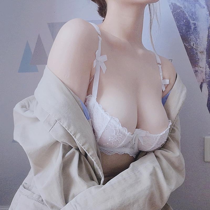大人気!!!(A-Eカップ)【下着セット】透かし彫り刺繍リボンワイヤー入り25410860