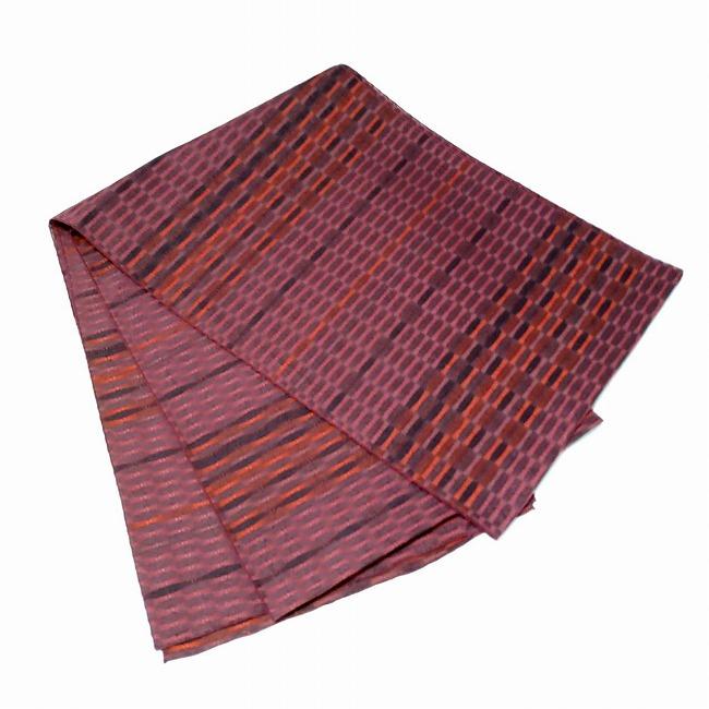 ★オトナ飾り 兵児帯 織柄 濃赤色系 へこおび ★c057