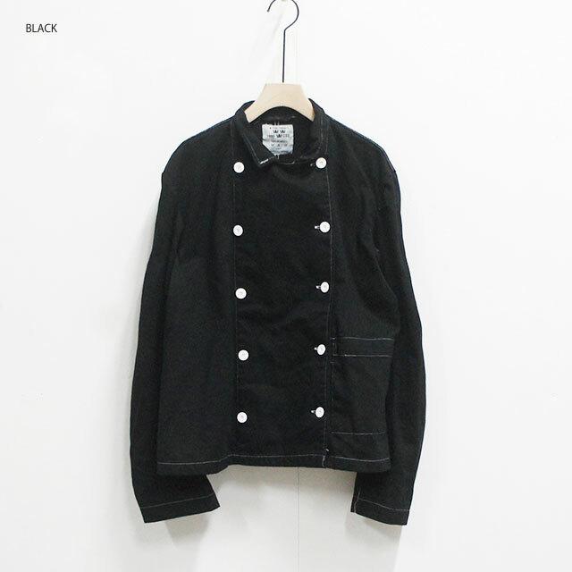 dead stock デッドストック スウェーデン軍コックジャケット(BLACK後染め) レディース ジャケット 無地 通販 (品番dkd-jkt-0083)