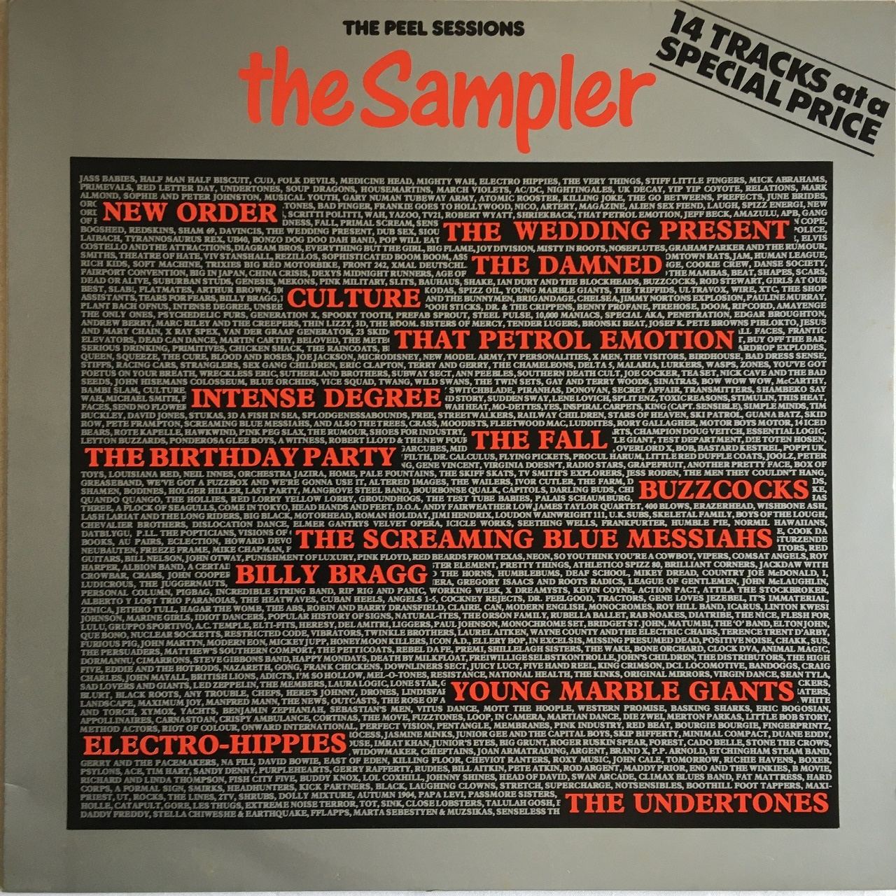 【LP・英盤】Various Artists  /  The Peel Sessions - The Sampler