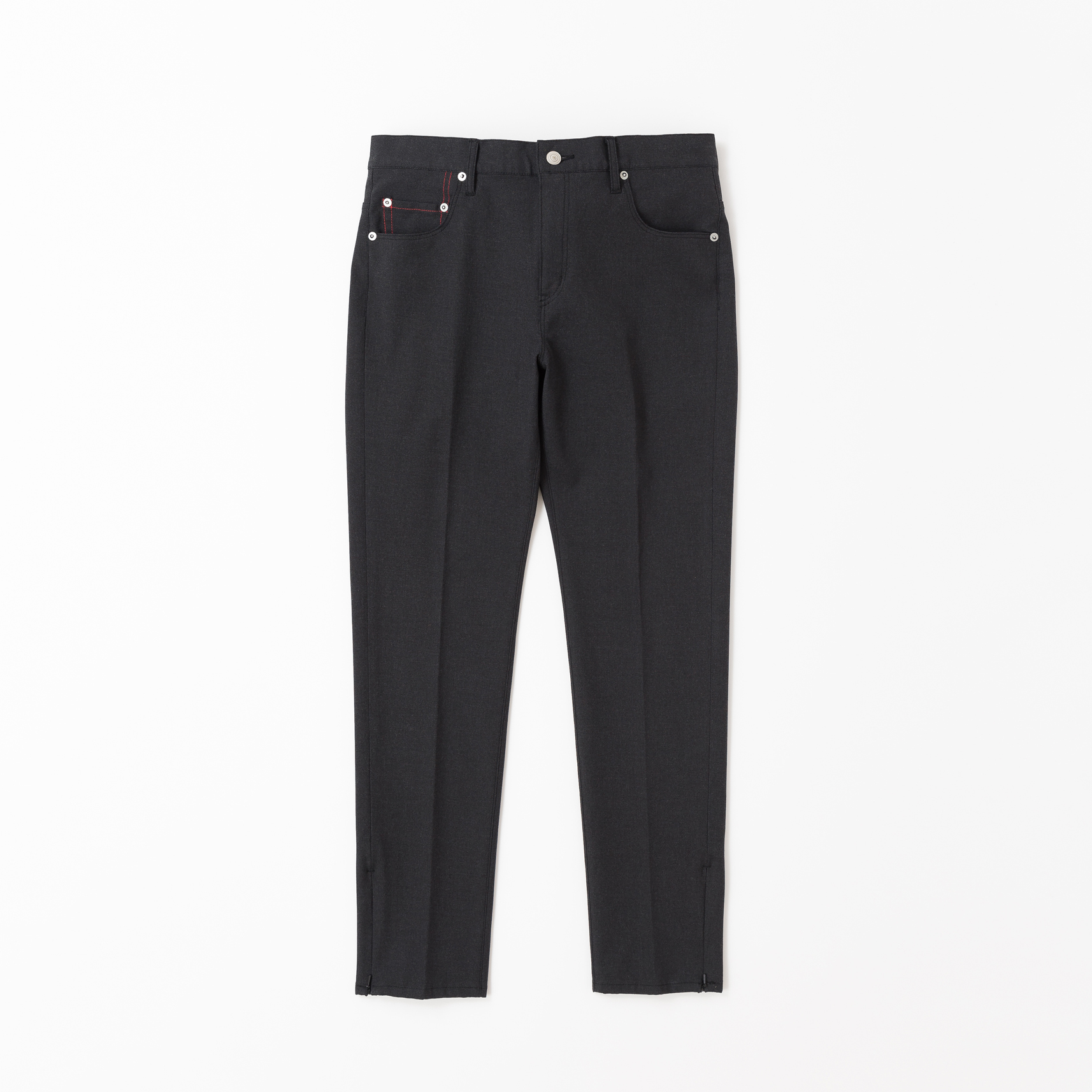 【VICTIM】ZIP SKINNY PANTS(BLACK)