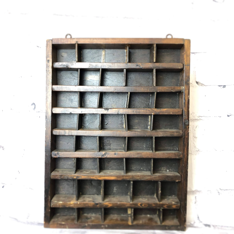 品番0166 Wall Cabinet 収納棚 壁掛 木製 キャビネット インテリア アンティーク