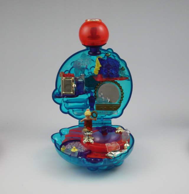 ポーリーポケット お城でバブルバス 1996年 完品