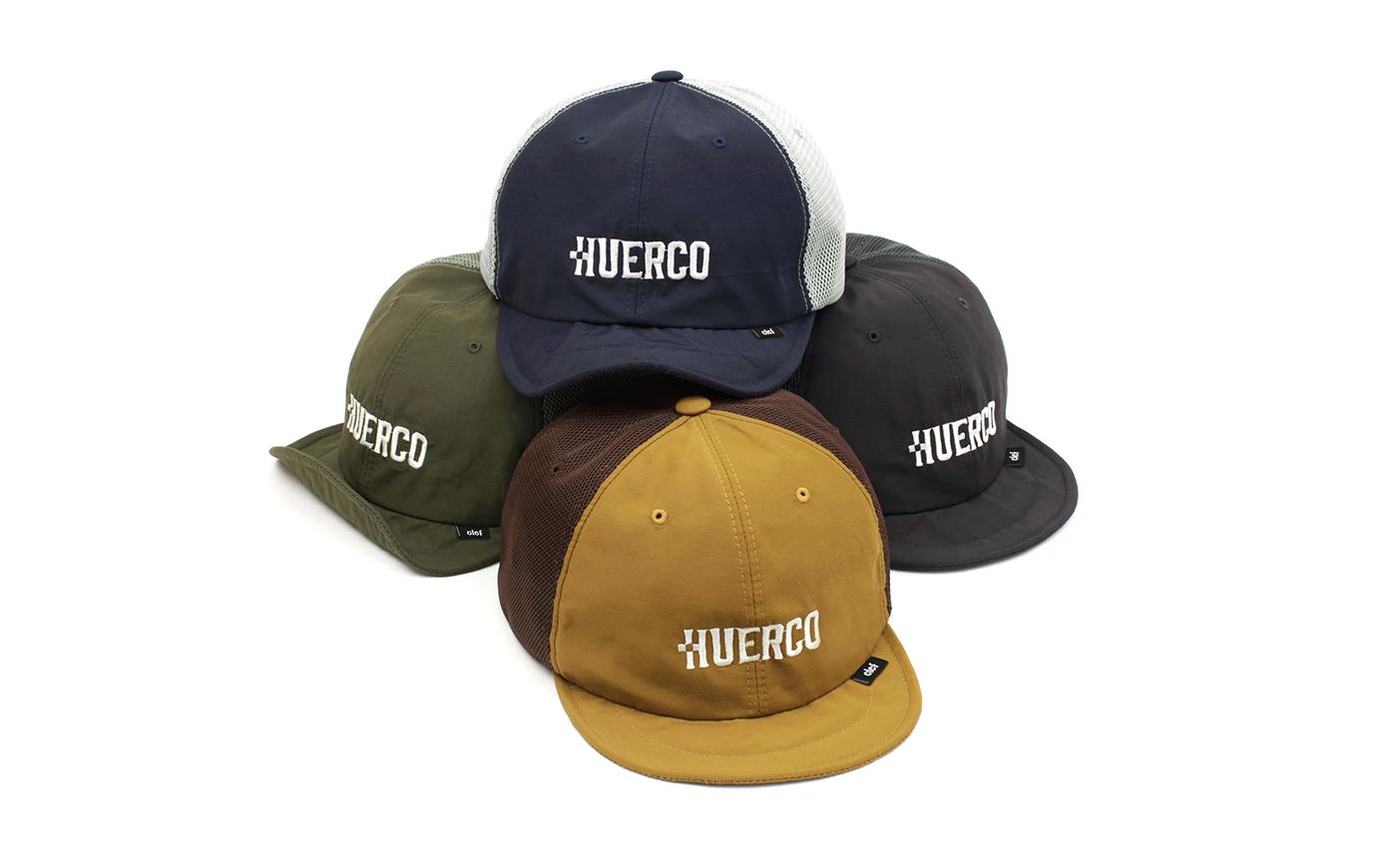 Huerco×Clef メッシュ B.CAP