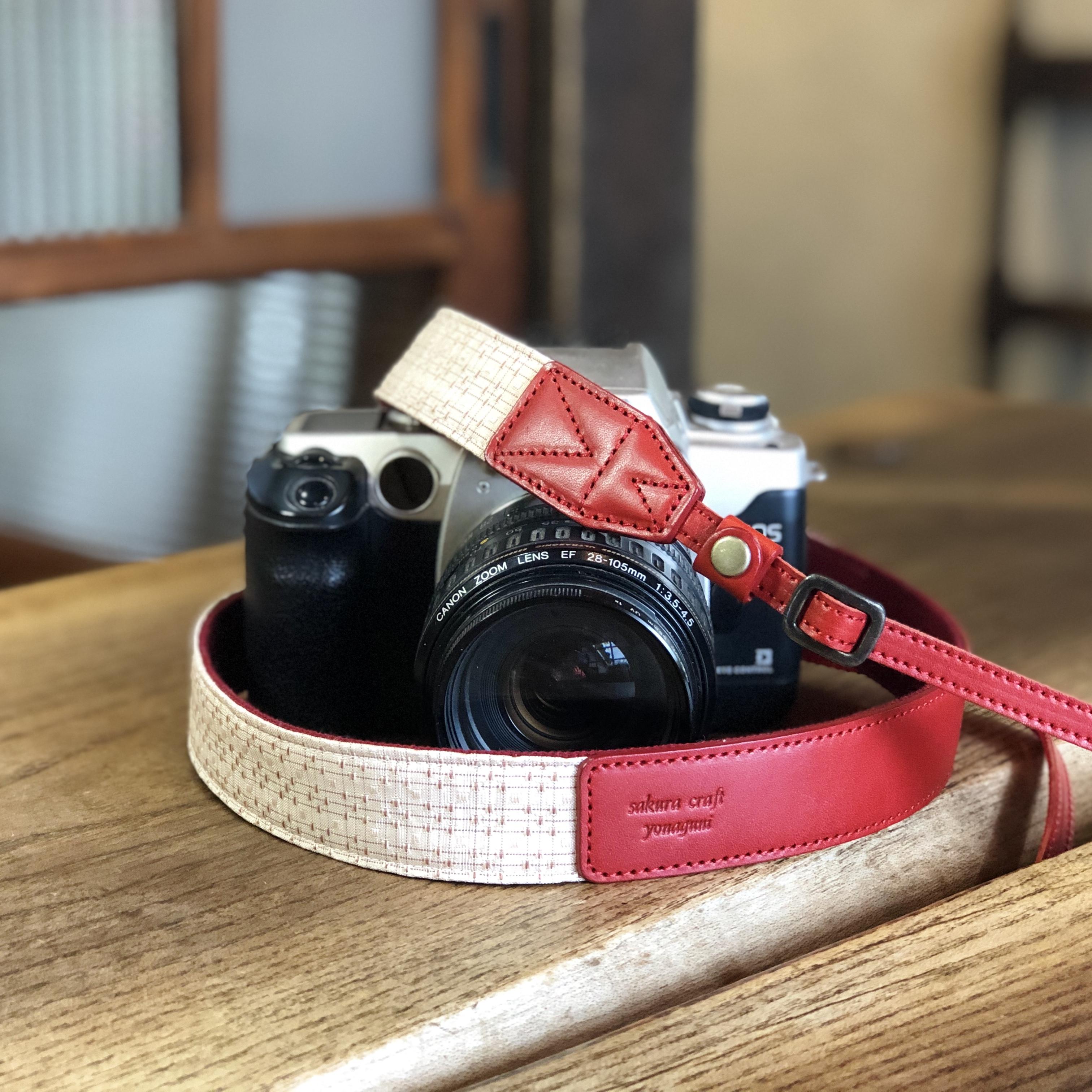 花織カメラストラップ 9
