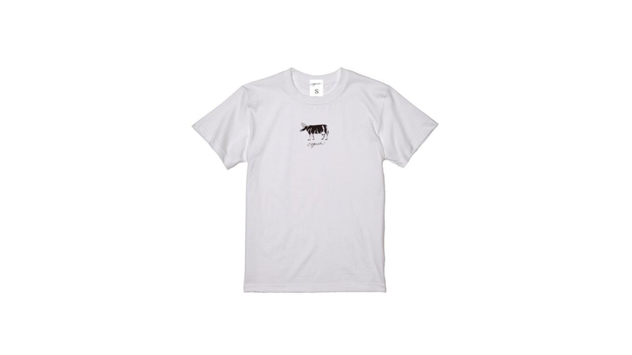 coguchi cow unisex Tshirt (WH)