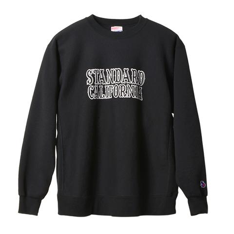 STANDARD CALIFORNIA #SD R.W. Logo Sweat Black