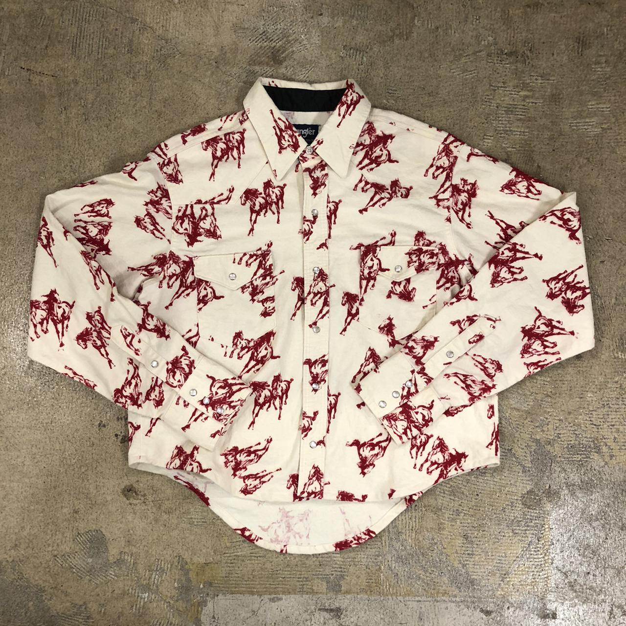 Wrangler 80's Western L/S Shirts ¥6,300+tax