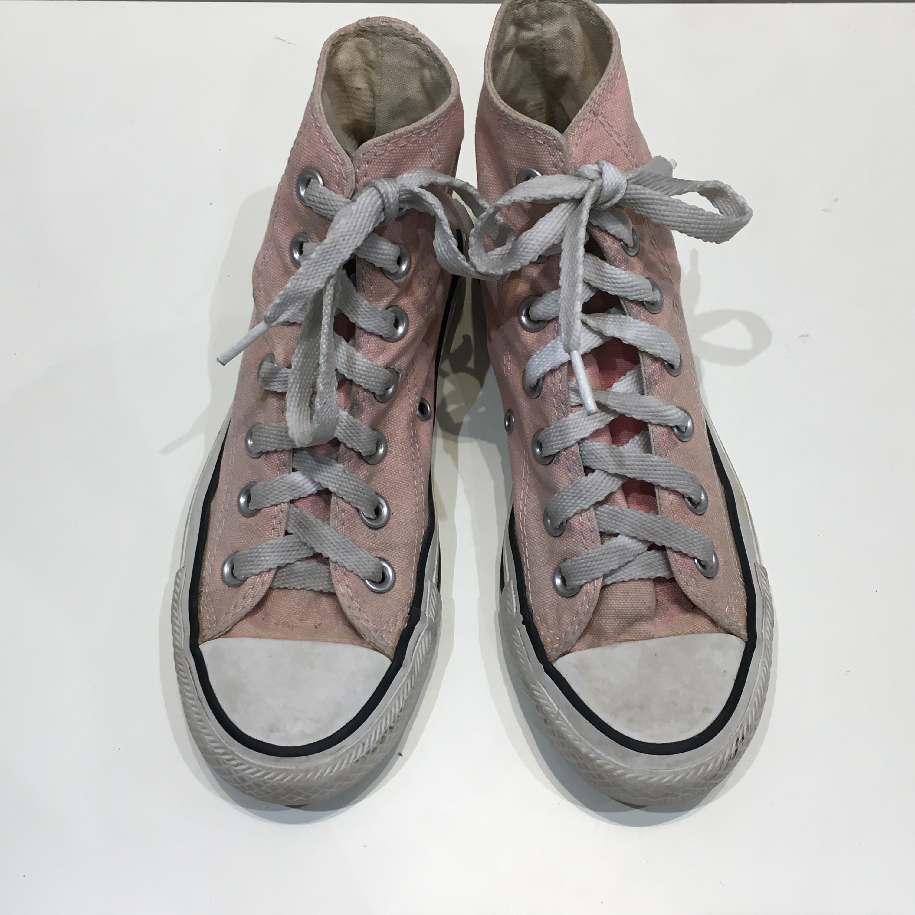 "USED ""  CONVERSE ALL STAR Pink HI """