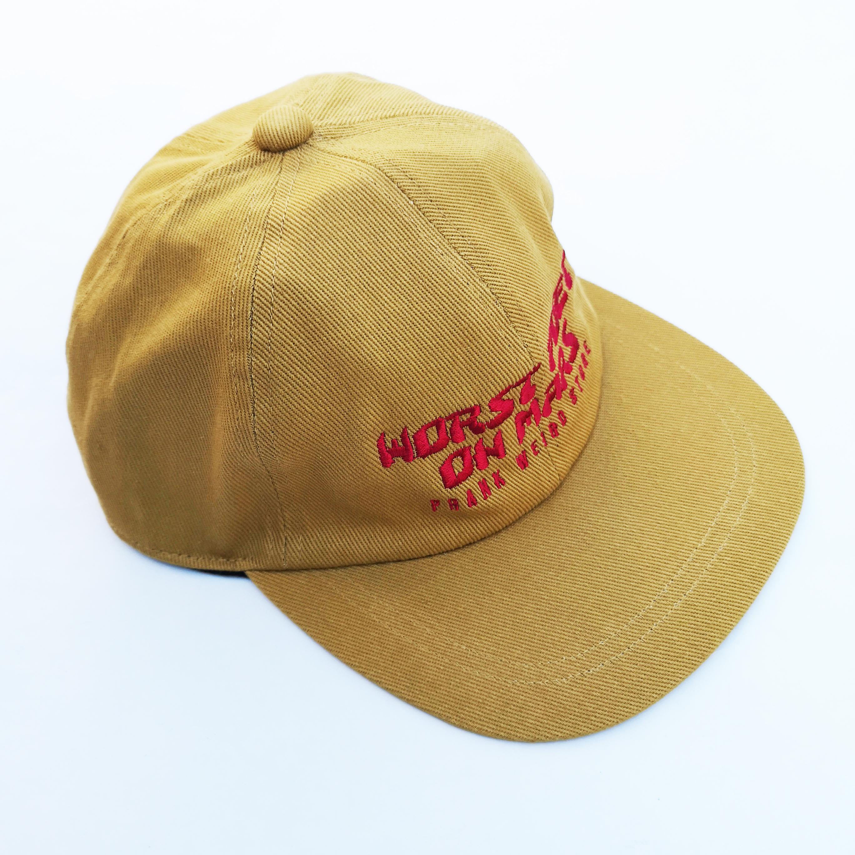 "WORST POET ON MARS ""火星きってのへぼ詩人"" CAP"