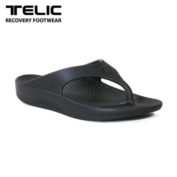テリック メンズ サンダル リカバリーサンダル TELIC FLIP FLOP BLACK