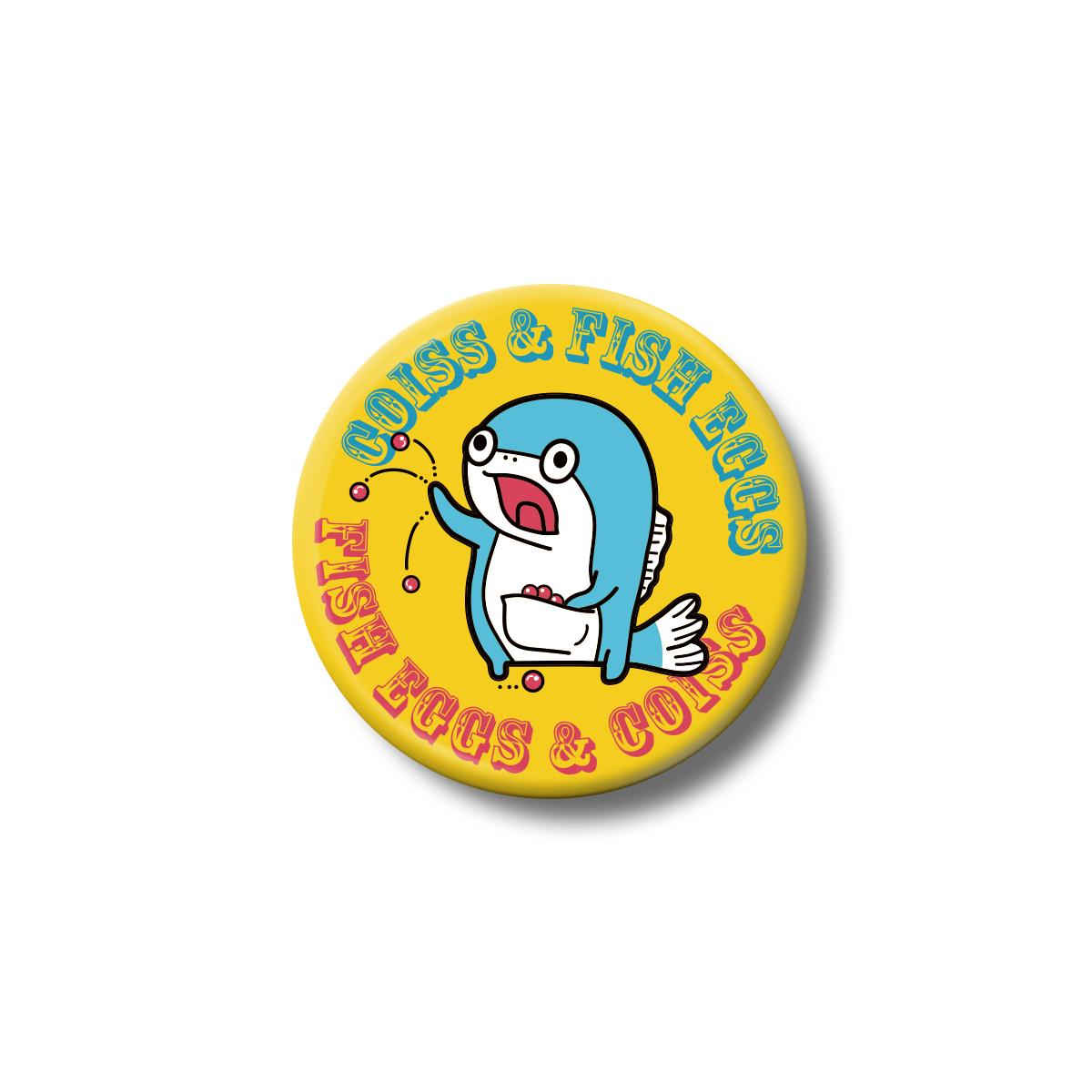 コイス缶バッジ (ロゴ)
