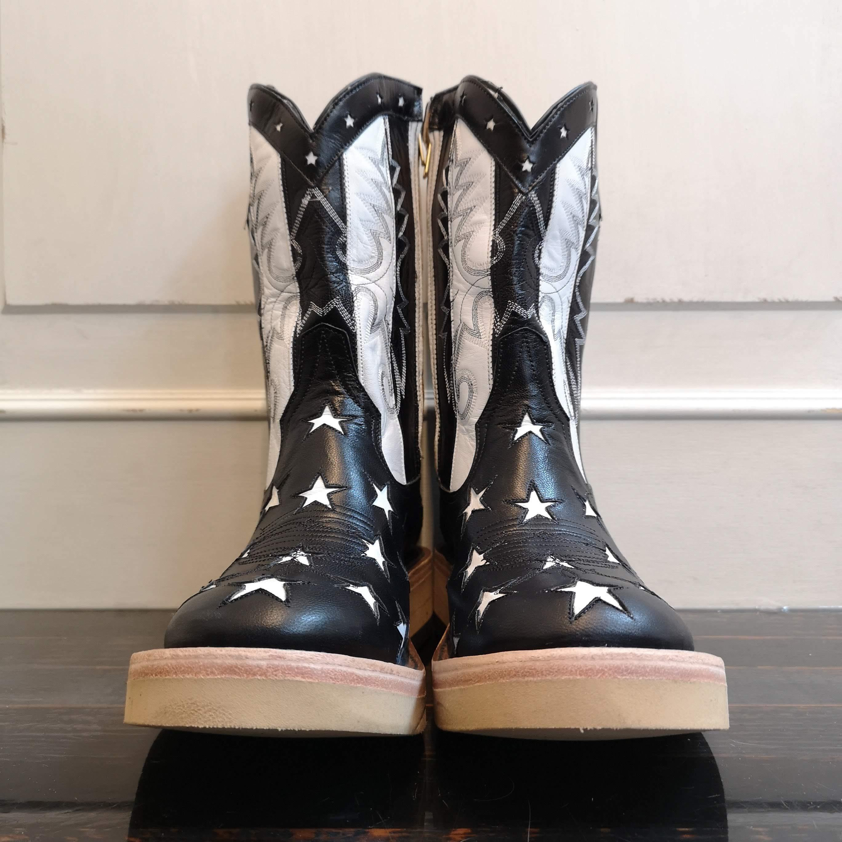 srf.0001 : star&stripes roper boots.