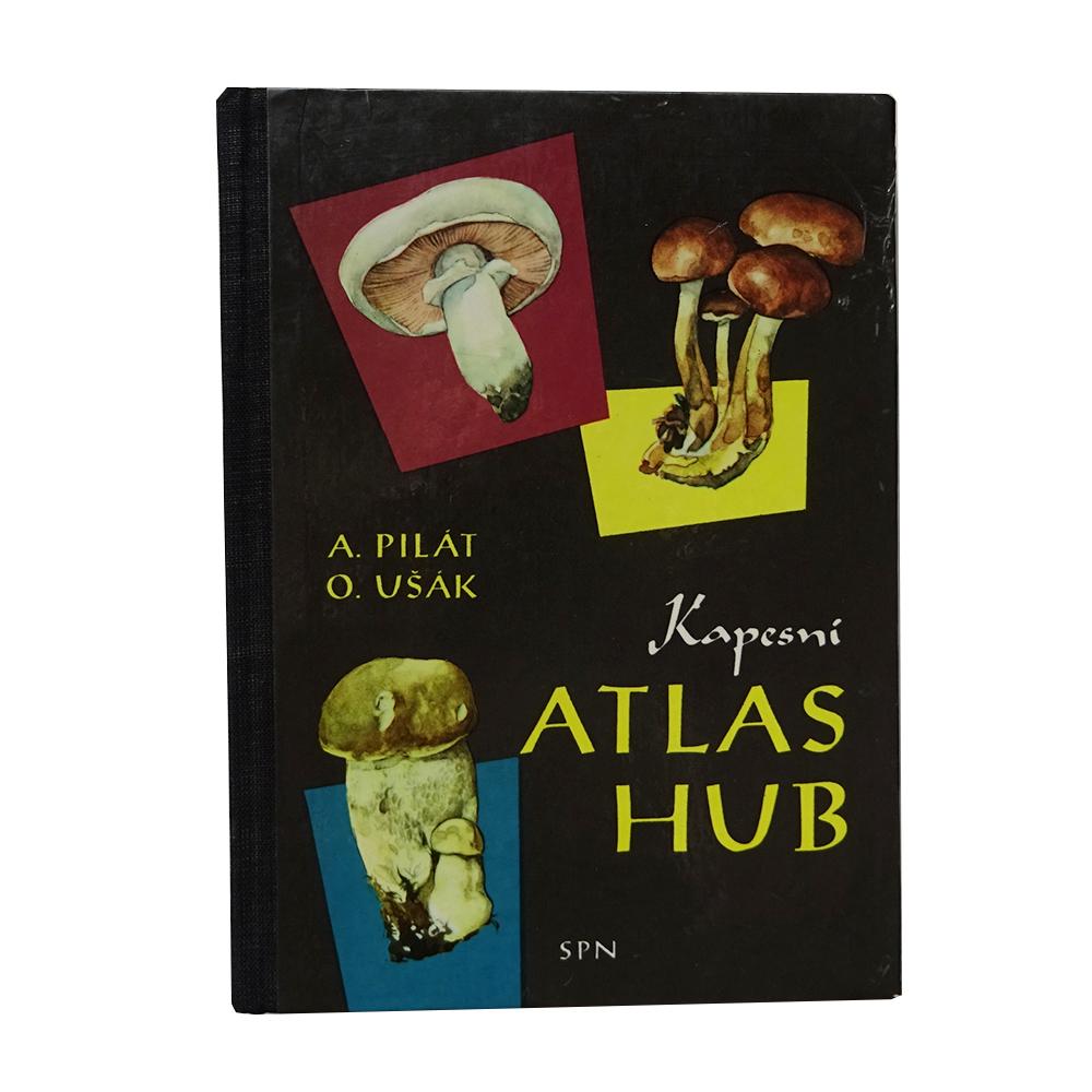 チェコスロバキア Atlas Hub キノコ図鑑