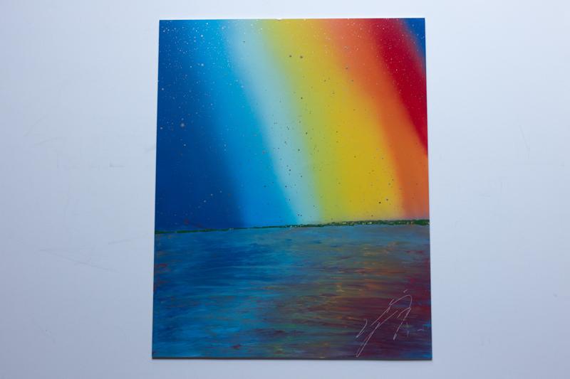 Rainbow (額入り特別作品)