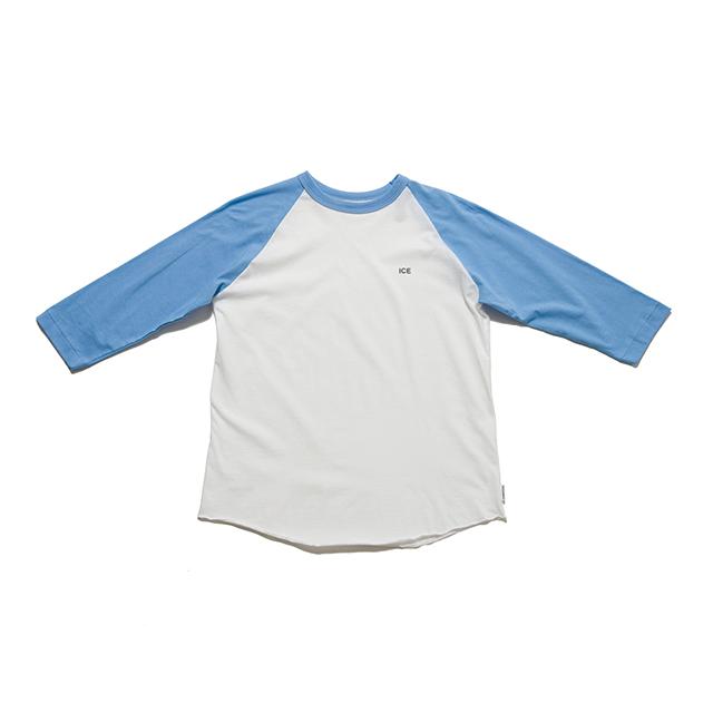 "SPICE COLOR R/S TEE ""ICE"" - BLUE"