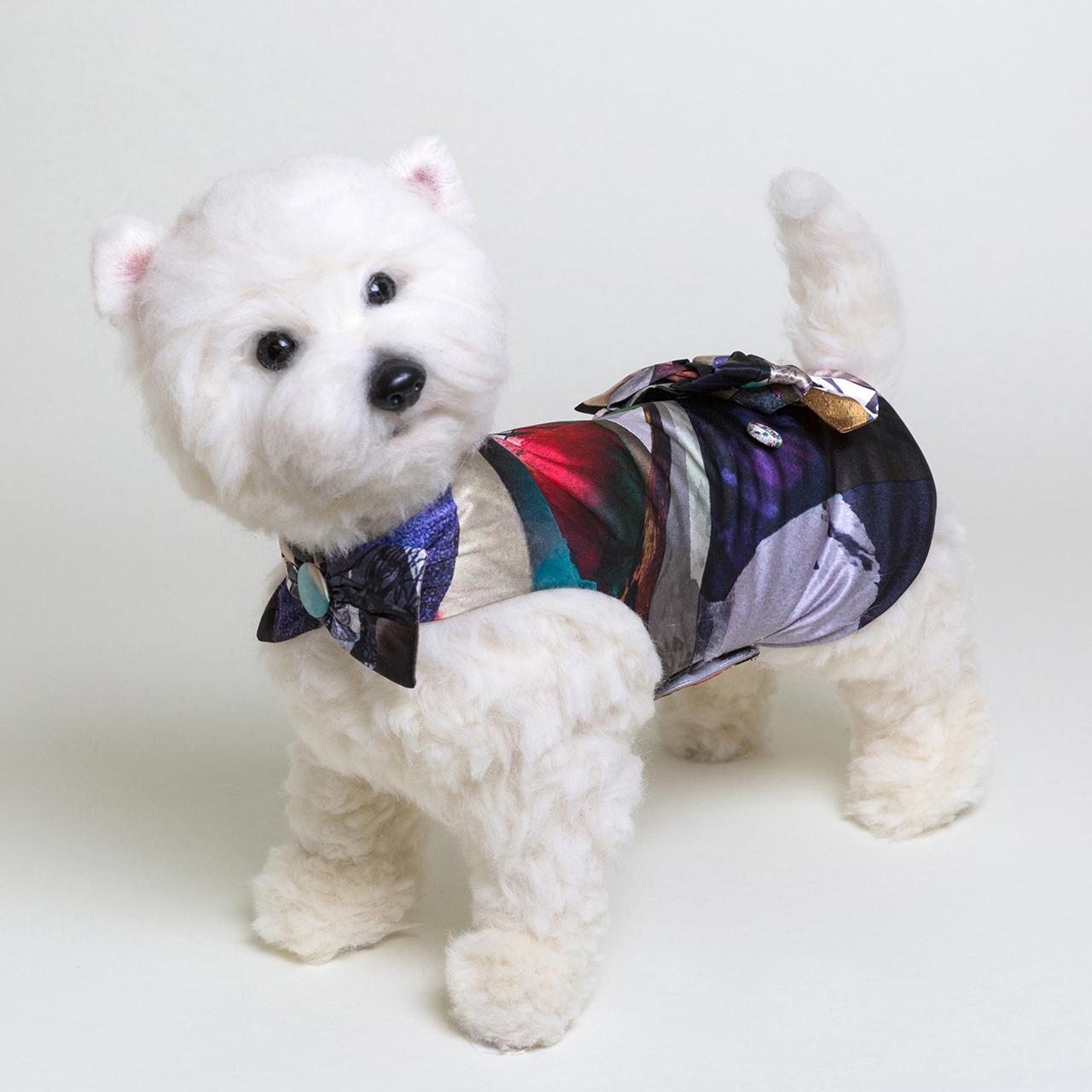 jibun-fuku DOG 【バック・リボンドレス】DOGBR201826