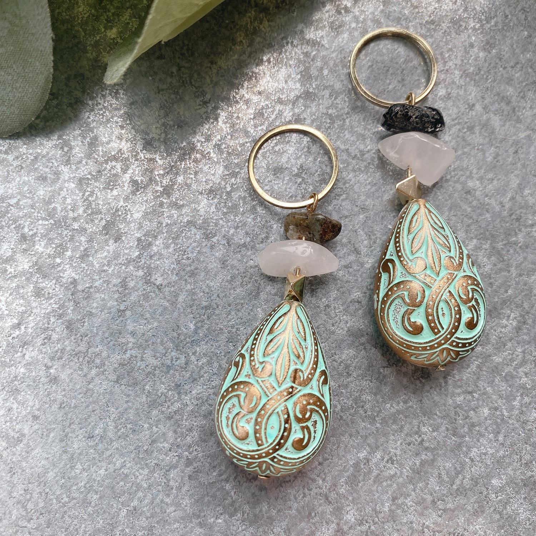 charm、order earring(a様専用ページ)