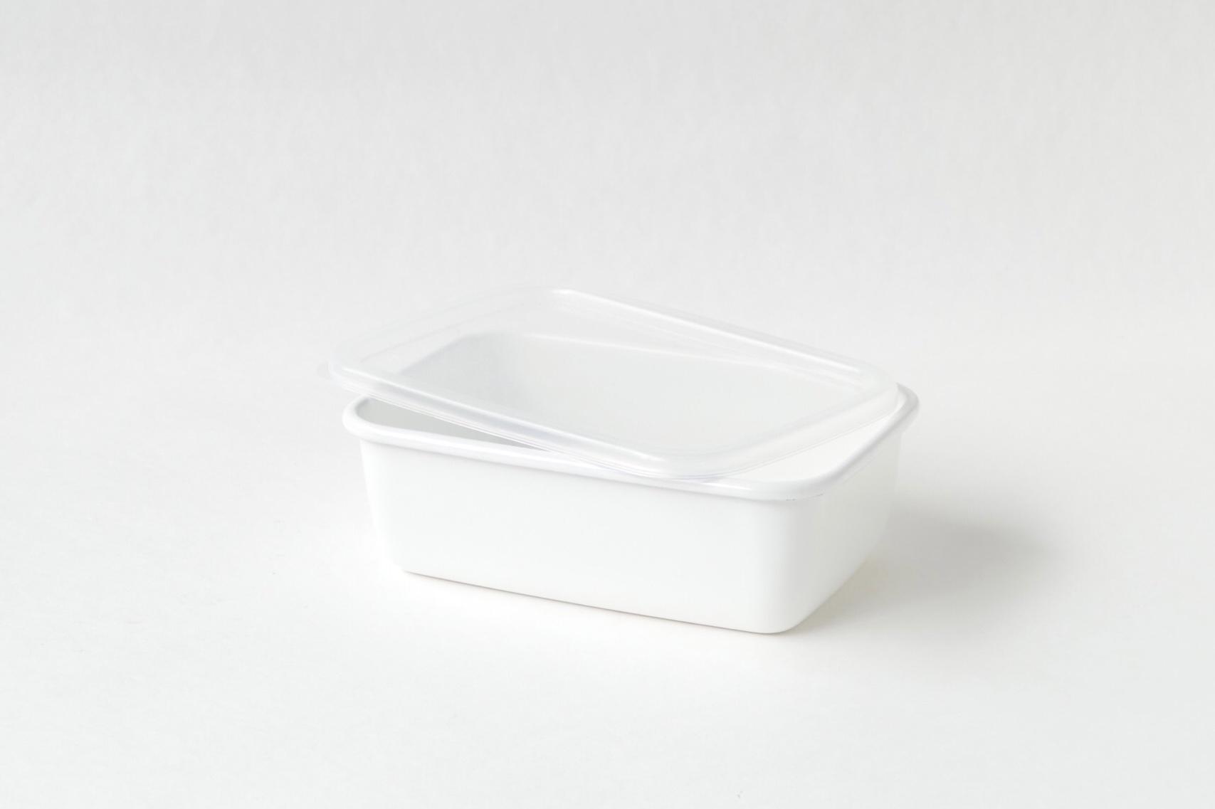 野田琺瑯 レクタングル深型L シール蓋つき