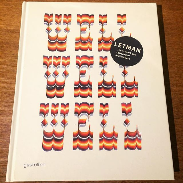 作品集「Letman: The Artwork and Lettering of Job Wouters」 - 画像1