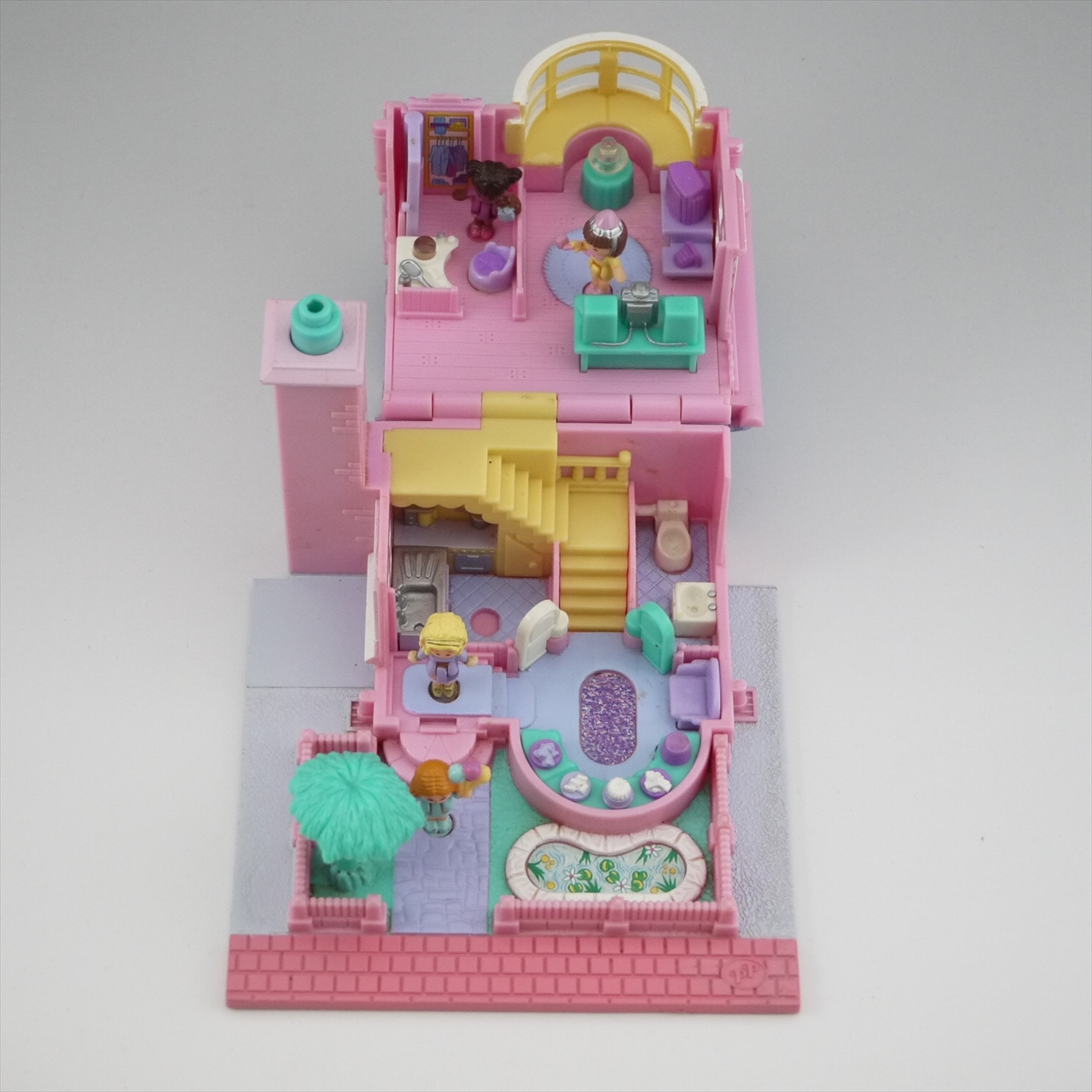 ポーリーポケット ライトアップ・ベイウインドウハウス 1993年完品