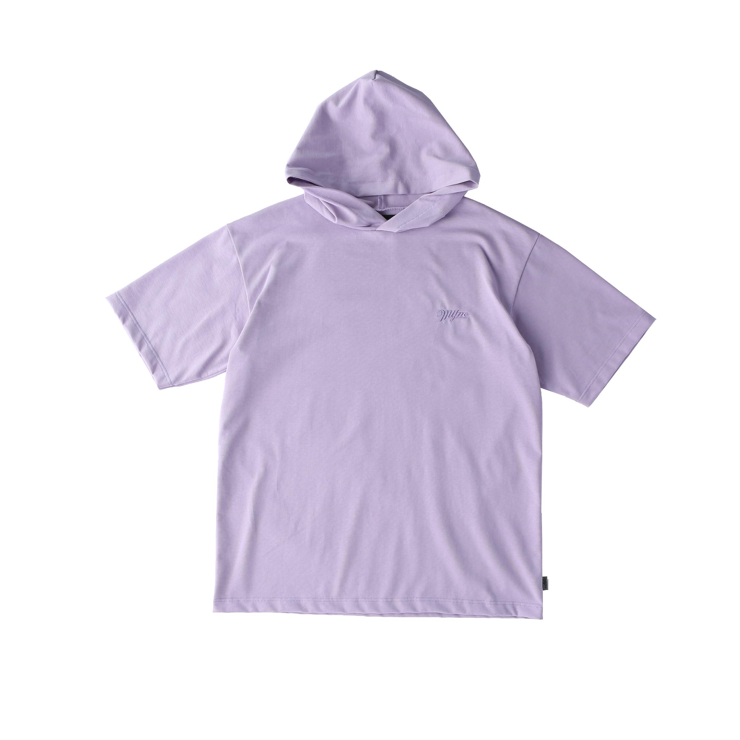 SNATCHER hoodie T-shirt / PURPLE - 画像1