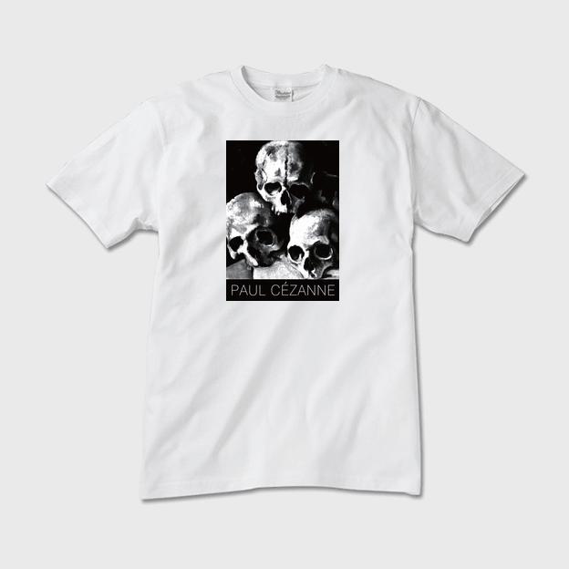 セザンヌ「スカル」Tシャツ