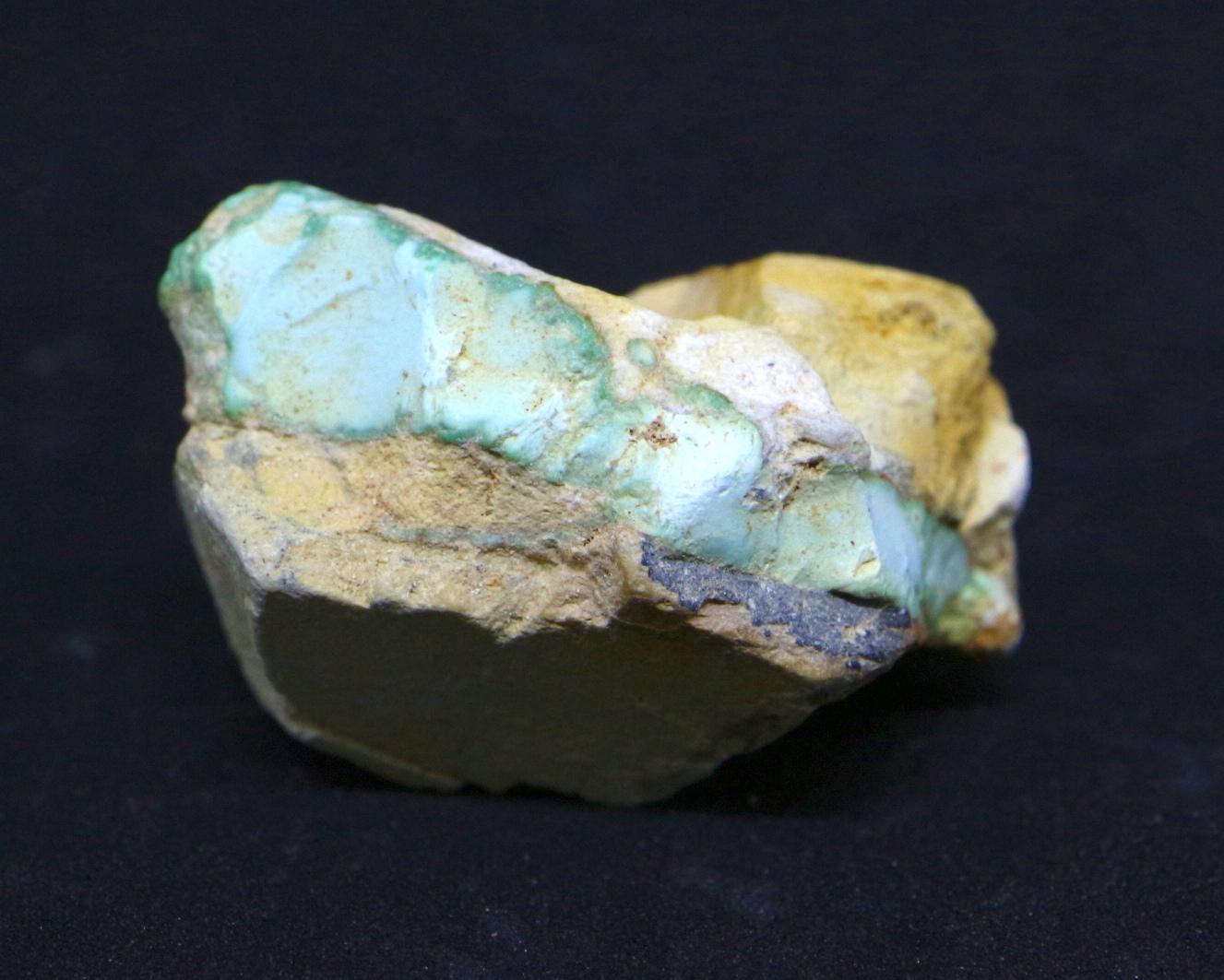 ロイストーンターコイズ Turquoise トルコ石 ネバタ州産 原石 9,8g TQ096