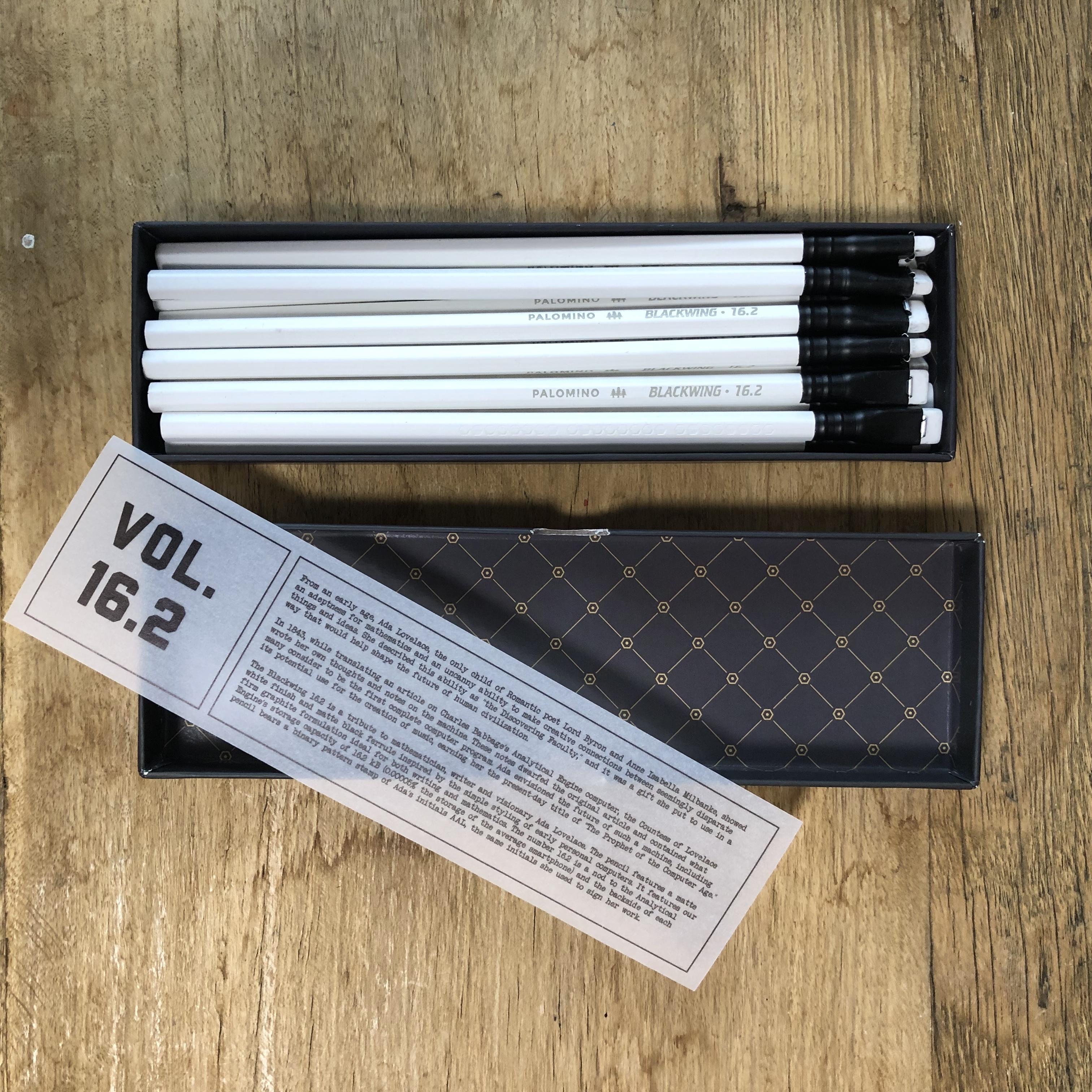 蘇った伝説の鉛筆 BLACK WING16.2リミテッド
