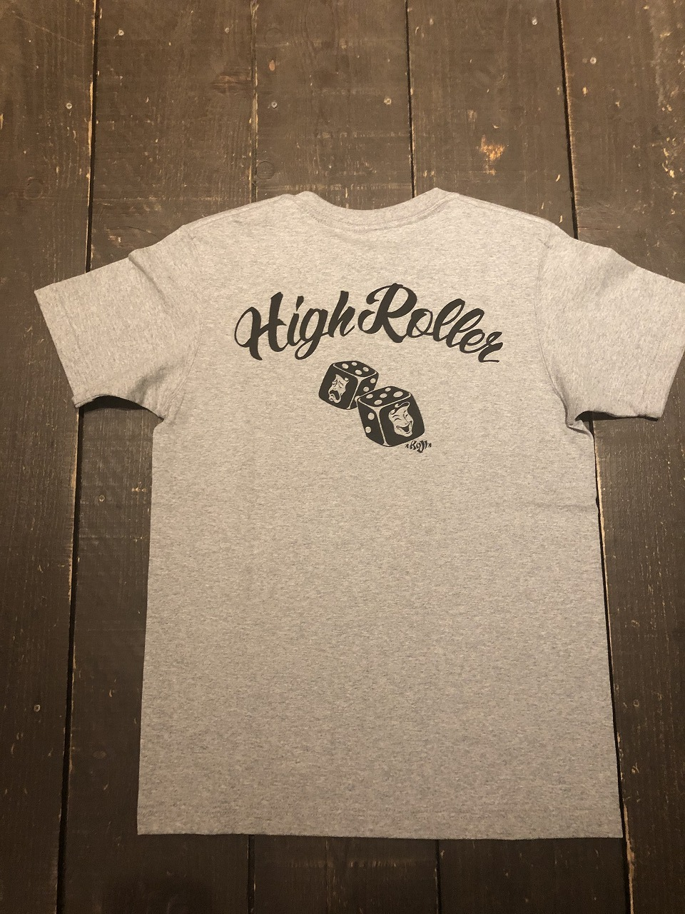 HIGH ROLLER 7.1オンス ヘビーウェイト【ポケットTシャツ】
