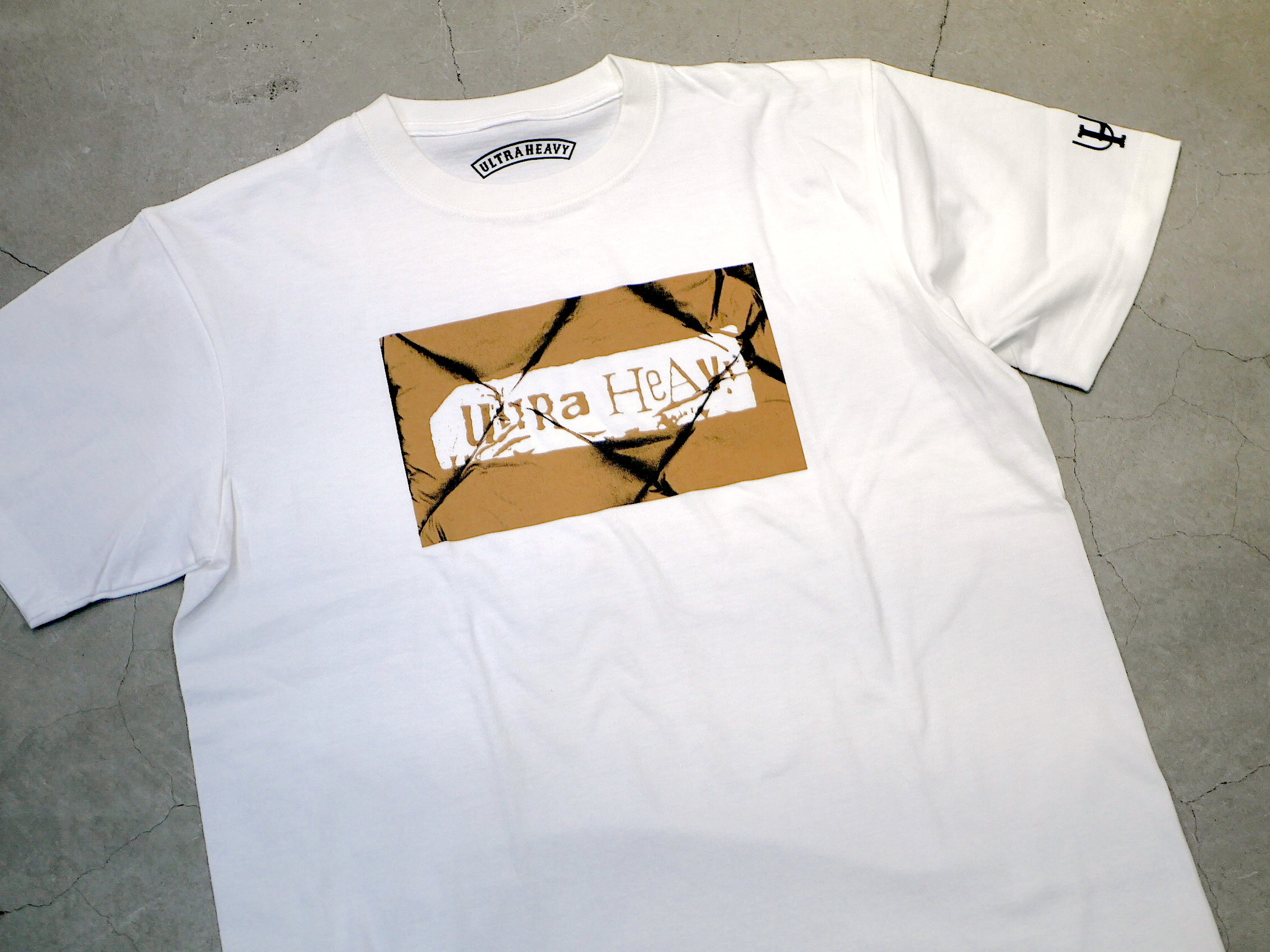 U.H / HEAVY-WEIGHT TEE(DOWN)
