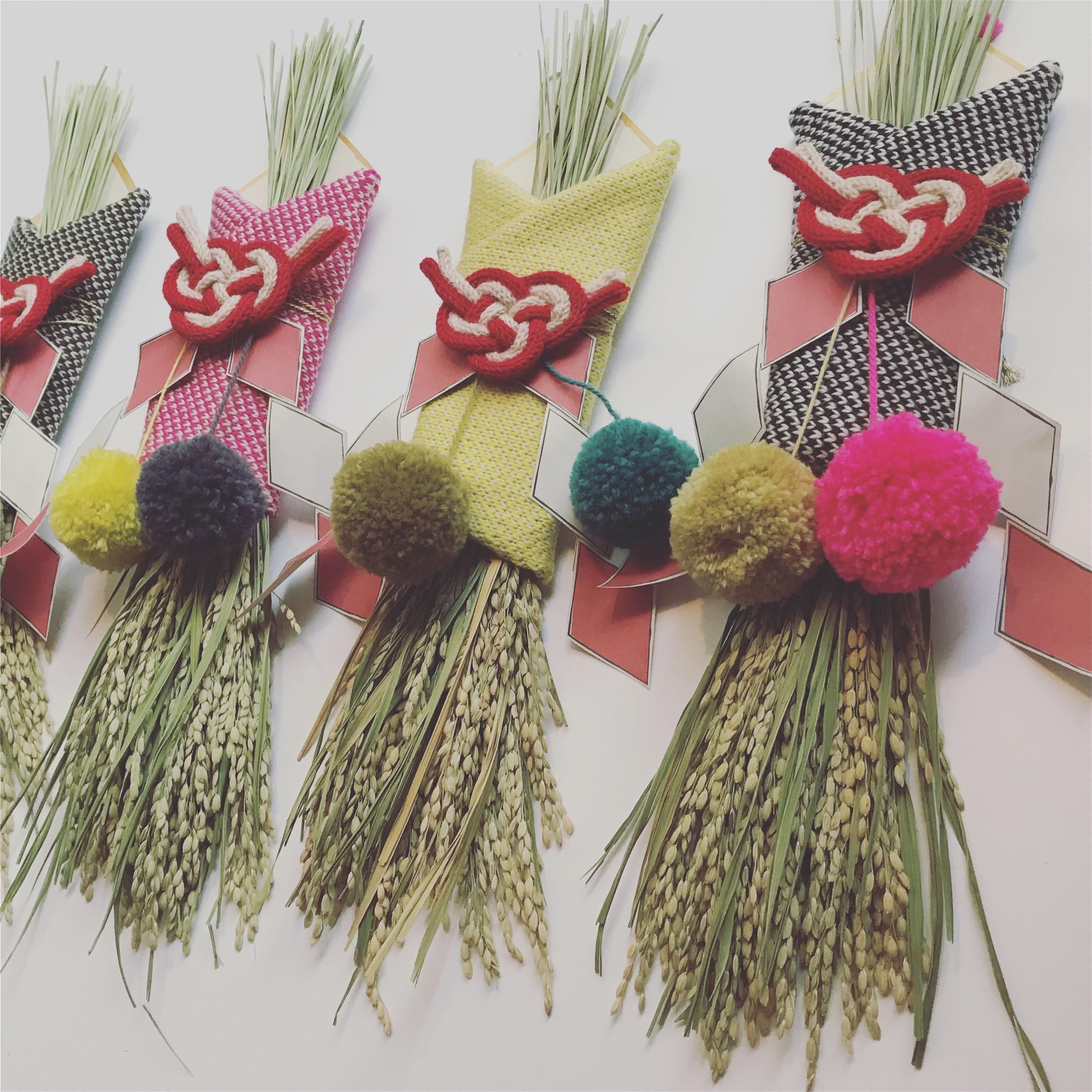 【お教室】ボンボンお正月飾り