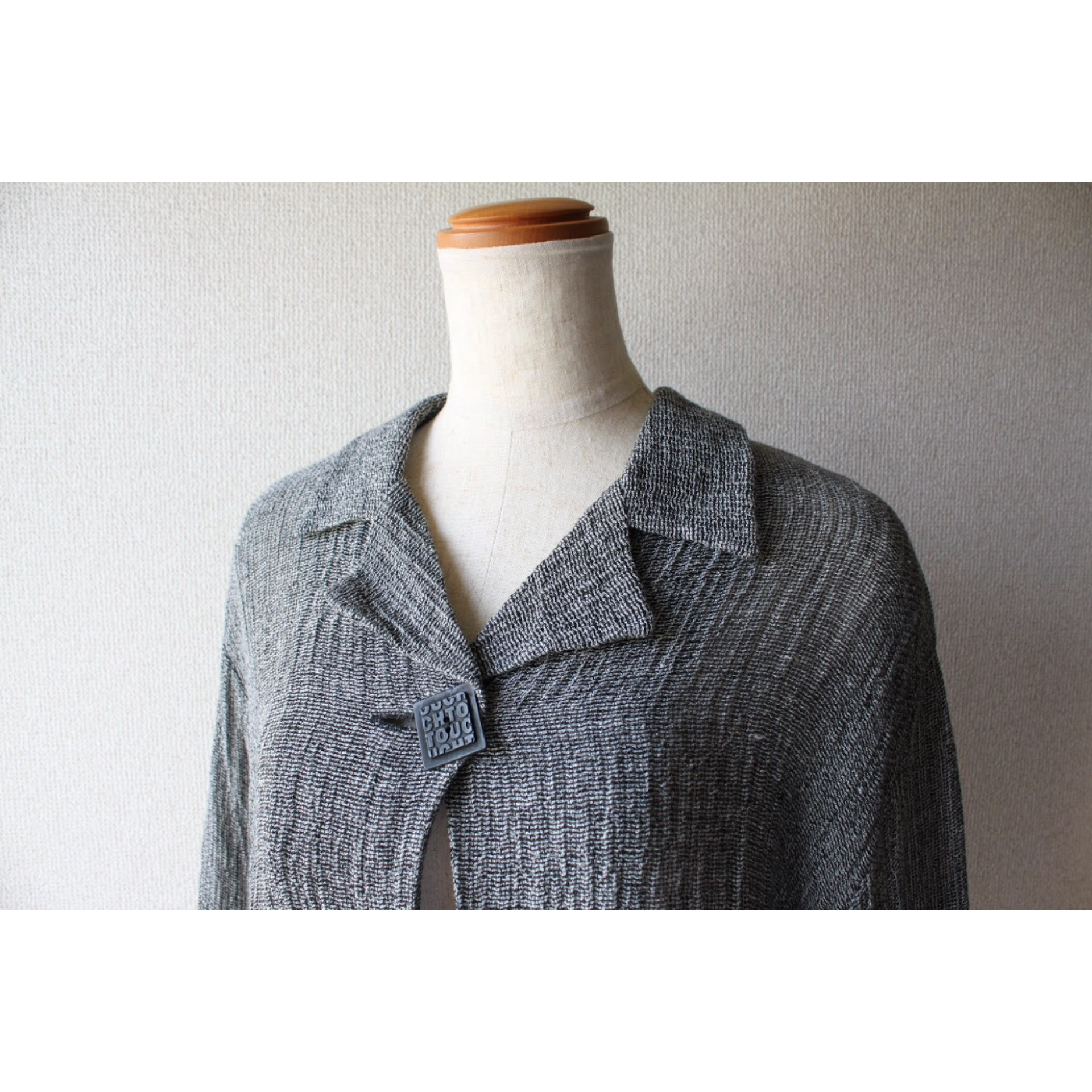 Vintage linen short length jacket