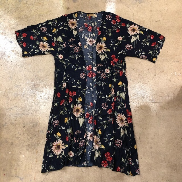 Katsumi Floral Print Gown