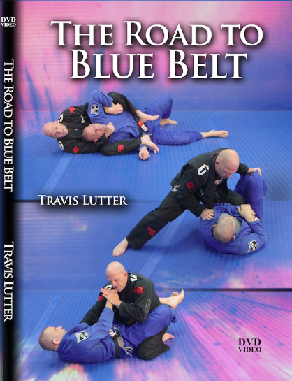 THE ROAD TO BLUE BELT BY TRAVIS LUTTER (2 DVD SET)