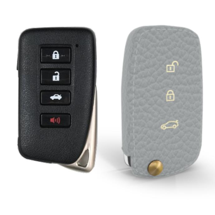 Lexus 専用 TypeC Car Key Case Shrink Leather Case