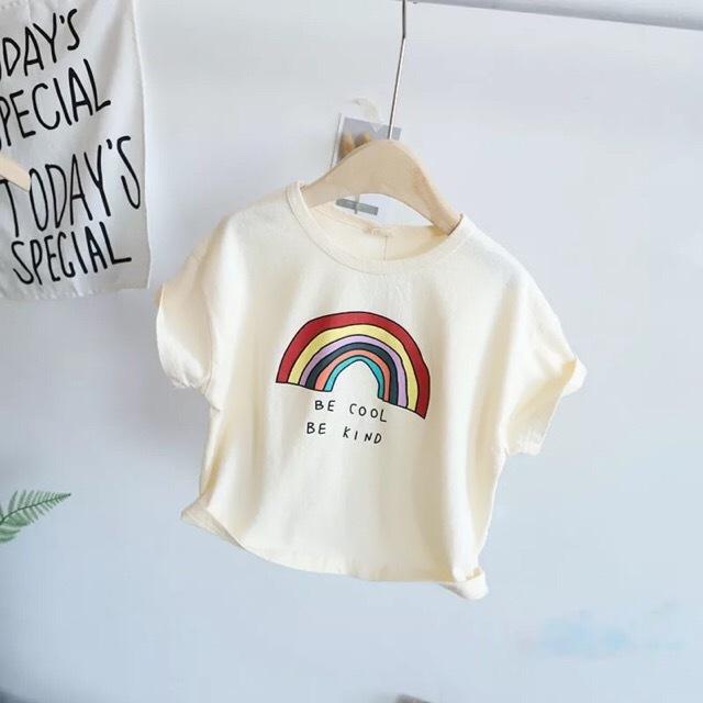 RAINBOW Tシャツ アイボリー【T070】