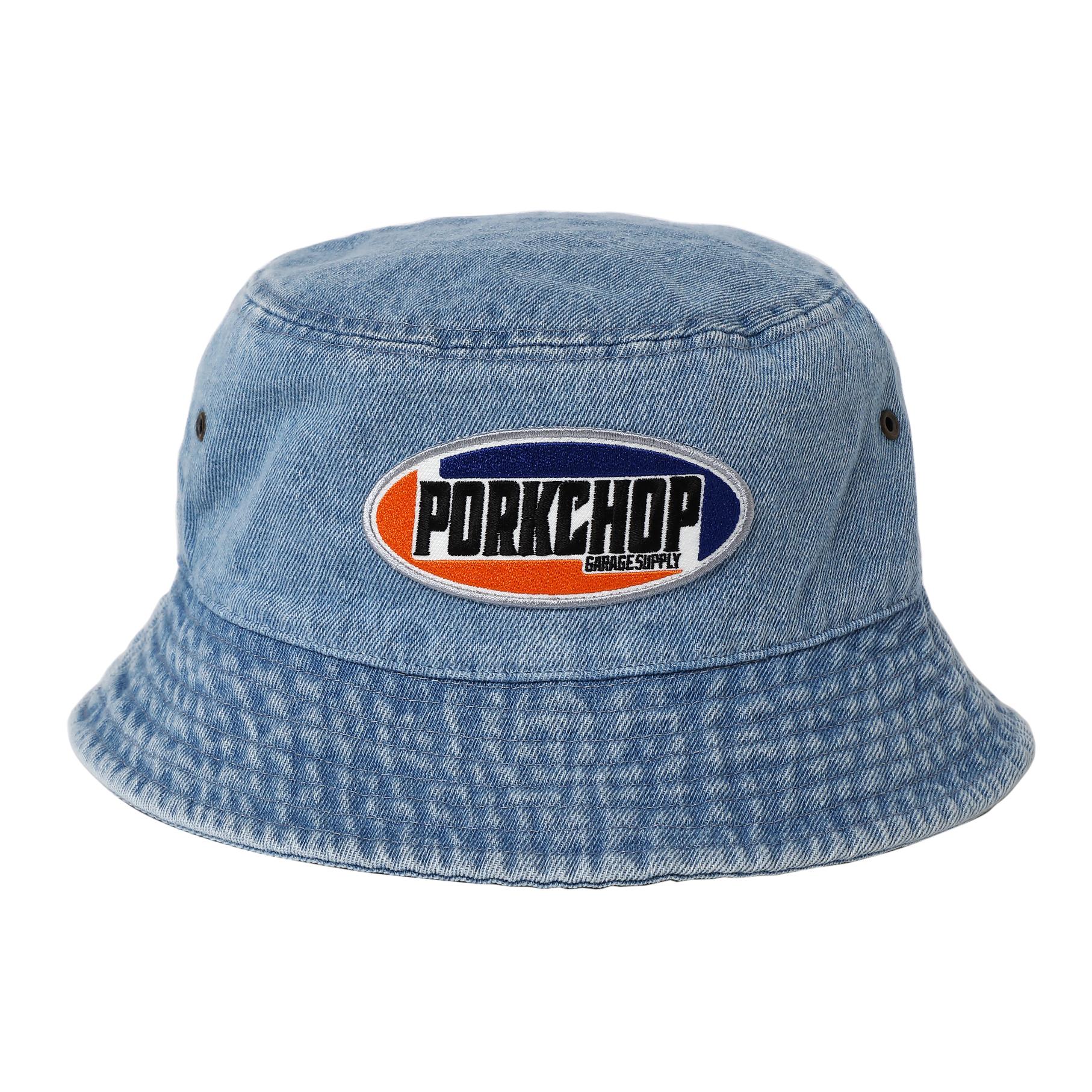 2nd Oval BUCKET HAT/LIGHT BLUE