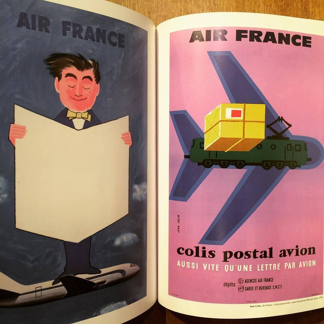 エールフランス ポスターデザイン集「Rêver le monde - Affiches Air France」 - 画像2