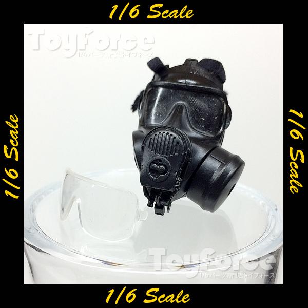 【04728】 1/6 ジャンク ガスマスク