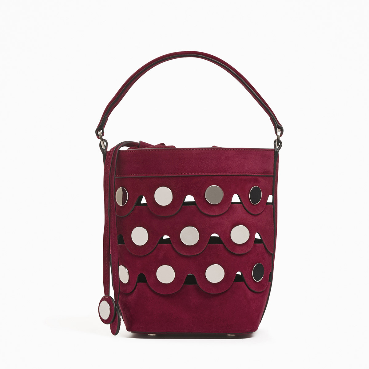 PIERRE HARDY PENNY BAG BORDEAUX