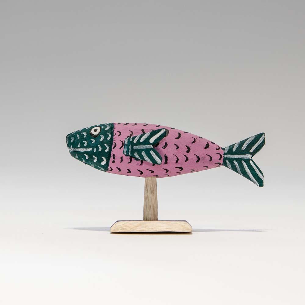 Alebrijes Fish - Pink×Green