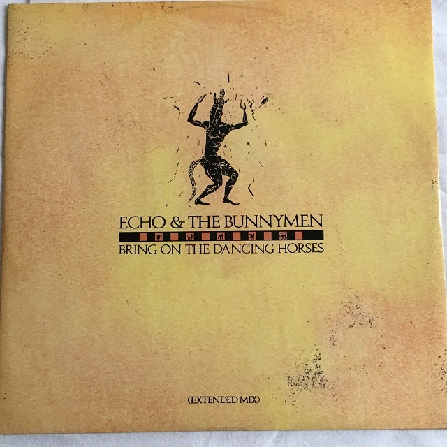 【12inch・英盤】Echo & The Bunnymen / Bring On The Dancing Horses (Extended Mix)